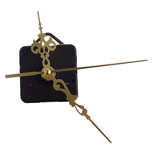 TOOGOO(R) Quartz Clock Movement Mechanism DIY Repair Parts Gold