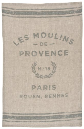 Now Designs Linen Teatowel Moulins