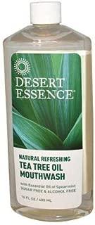 product image for DESERT ESSENCE MOUTHWASH,TEA TREE,REFILL 16 FZ