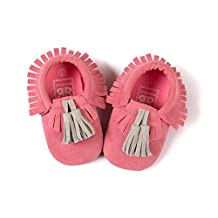 Infant Baby Soft Sole PU Leather Boy Girl Toddler Moccasin Prewalker Shoes