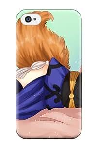 fate zero foxgirlpinktail tamiczan Anime Pop Culture Hard Plastic iPhone 4/4s cases