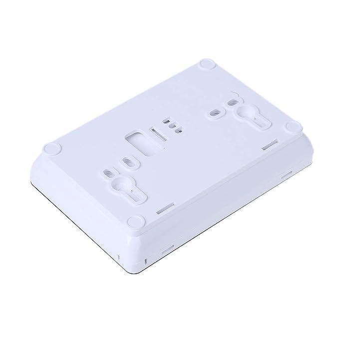 calentador de gas control de temperatura programable Besttse WiFi /& RF termostato inal/ámbrico para pared control remoto