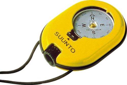 Suunto KB-20 Liquid Filled In Aluminum Housing Compass, Yellow ()