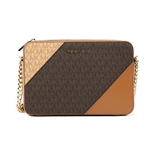 Michael Kors Tricolor Signature East West Crossbody ()