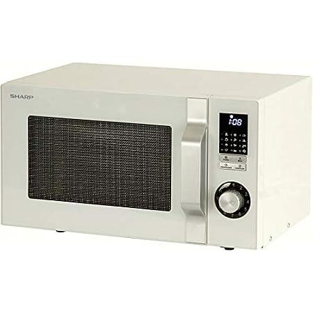 Microondas Simple Sharp - R 244 WW (calidad (Certificado): Amazon ...