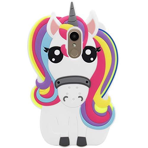 Joyleop Case for LG Stylo 4/LG Q Stylus,Cartoon Soft Silicone Cute 3D Fun Cool Cover,Kawaii Unique Kids Girls Animal…