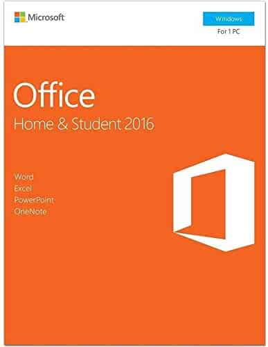 2018 New Office 2016 Home and Student PC Key Card For Windows 10 English