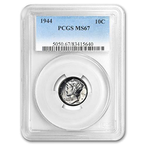 1944 Mercury Dime MS-67 PCGS Dime MS-67 PCGS