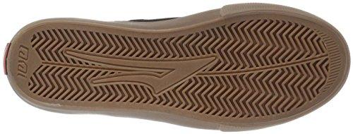LAKAI Skateboard Shoes RILEY HAWK BLACK/GUM SUEDE