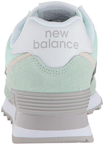 New Balance Donna Wl574v2 Marina Sneaker Spuma Verde B7UqrT7Pw