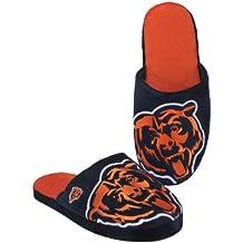 NFL Chicago Bears 2011 Big Logo Slide Slipper Hard Sole Medium