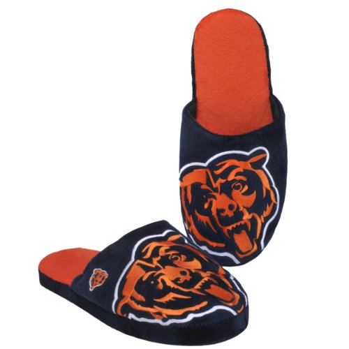 Chicago Bears 2011 Big Logo Men Slipper Tpr Sole - Wear Chicago Bears