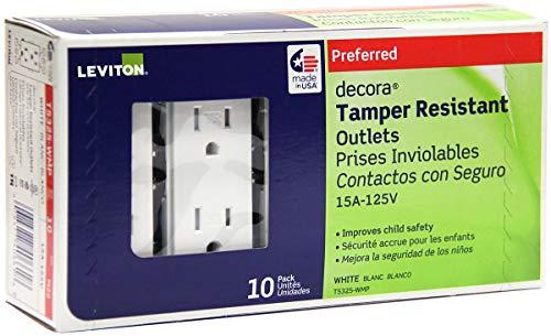 leviton decora tamper resistant - 1