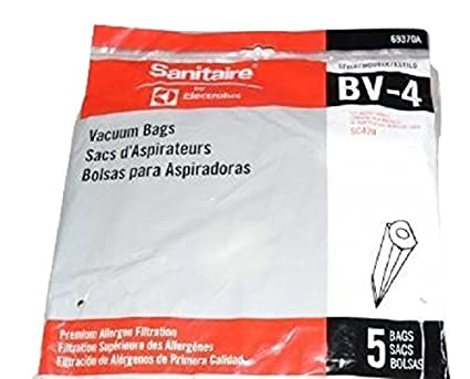 Amazon.com - Sanitaire SC420, SC420A Back Pack Vac Type BV-4 ...