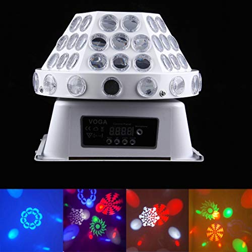 stage lighting 30W Mushroom Magic Ball LED Crystal Light, Master/Slave / DMX512 / Auto Run/Sound Control Modes, AC 220V by stage lighting (Image #8)
