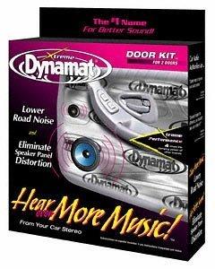 (Dynamat Dynamat Dyn10435 (Dynamat Speaker Acc; Sound Deadening Xtreme Door Kit 4X (30.5X91.4Cm)))