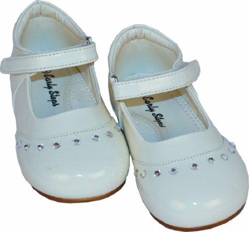 Baby-Schwarz Patent-Fee-Schuhe Baby-Größe 1 bis 10 Infant
