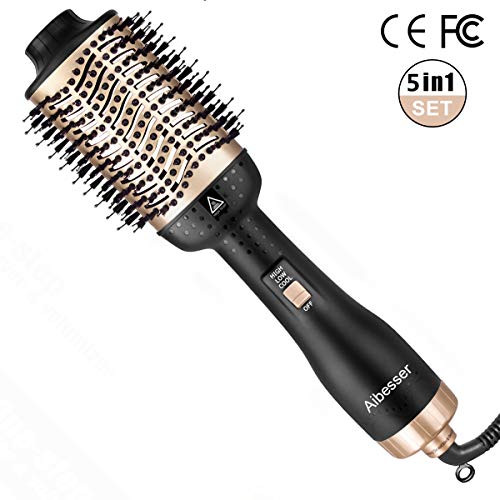 Aibesser One-Step Hair Dryer Volumizer Hot Air Brush