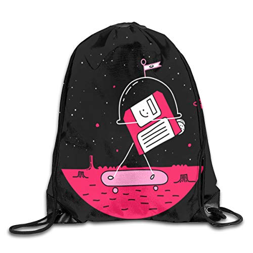 GoDiao Mars World by Porky Roebuck Drawstring Backpack Bags