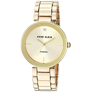 Anne Klein Women's Watch | Diamond-Accented AK/1362 Bracelet Watch