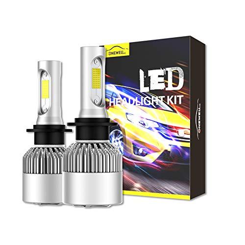 NEW H7 6000K White 8000LM CREE LED Headlight Bulbs Kit High Low Beam Fog Light