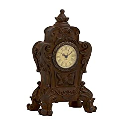 Plutus Brands Vintage Well Designed Ceramic Table Clock