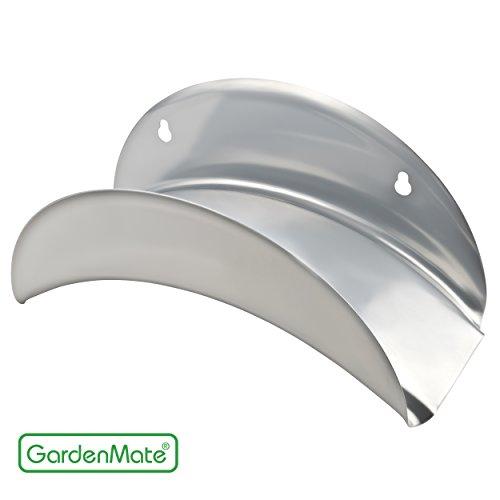 GardenMate® Schlauchhalter SILBER