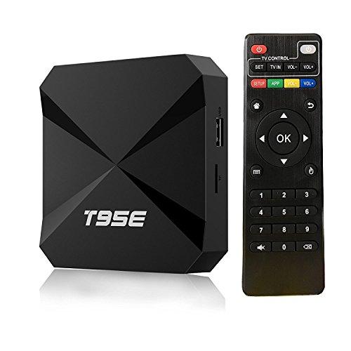 Android 6.0 TV Box 1GB/8GB Quad Core 32Bits T95E RK3229 Android TV Box with 2.4GHz Wifi 4K Ultra HD Internet HDMI 2.0 - Tv Box Quad Core Combo