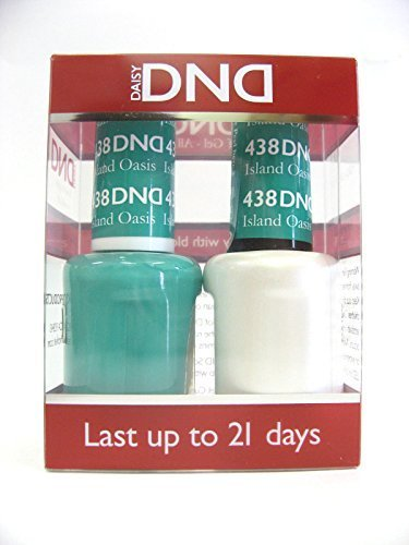 DND *Duo Gel*  Spring Set 438 - Island Oasis by DND Gel