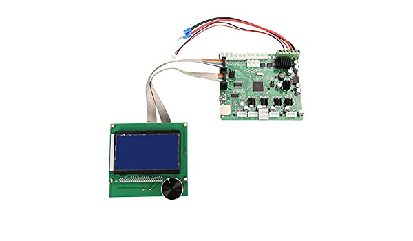 Powlance - Pantalla LCD para impresora 3D + panel de control ...
