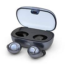 Car Electronics & Accessories OmkuwlQ Wireless Bluetooth Headset Bone Conduction Earphone Mini Ear Hook Headphones Driving Sport Car Electronics & Accessories