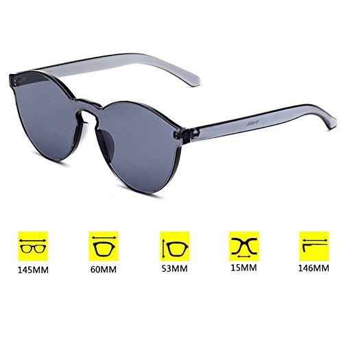 UV400 Gris soleil hibote unisexe de int¨¦gr¨¦es lunettes fwBTxUAq6T