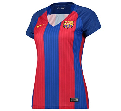 Barcelona Home Womens Jersey 2016 / 2017 (Unsponsored) – DiZiSports Store