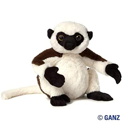 Webkinz Sifka Lemur Plush with Sealed Adoption Code: Toys & Games