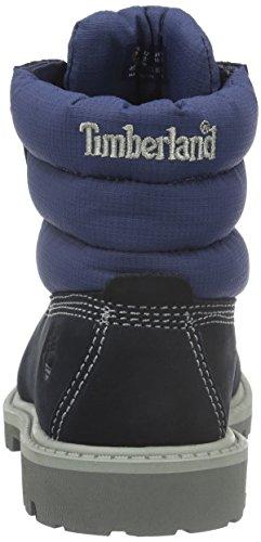 Timberland 6 6 Classic 6 In Quilt Boot, Botines Unisex Niños Azul - Blau (Navy Nubuck with royal Blue)
