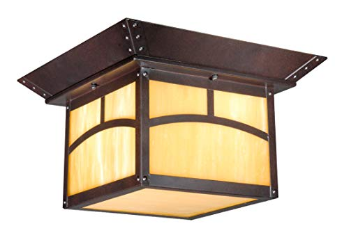 Vaxcel Mission Outdoor Ceiling Light in US - 4