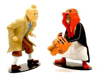 Tintin Poster und Abdallah, face à face. Collection Rencontres. Moulinsart. Hergé. 45951.