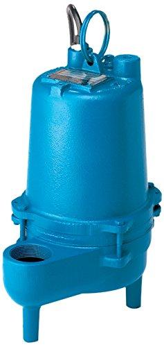 Barnes SE421 Submersible Cast Iron Sewage Pump - 4/10-HP, 7,500 GPH, 120V / 1Ph, 15' Cord, Vertical Float Switch ()