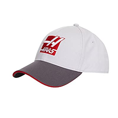 Haas American Team Formula 1 Motorsports Gray Adjustable Team Hat by HAAS