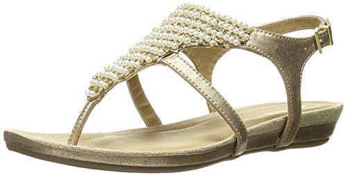 Kenneth Cole REACTION Women's Lost the Way Flat Sandal, Clay, 8 M US