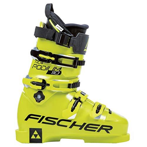 Fischer RC4 Podium 110 LC Race Ski Boots 2019-25.5/Yellow ()