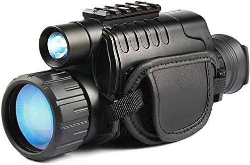 Monocular infrarrojo de visi/ón nocturna en HD de 8x40 con c/ámara digital; reproducci/ón de video; salida USB; para caza y vida silvestre Distancia de visi/ón de 150 m en la oscuridad; tarjeta TF de 8G.