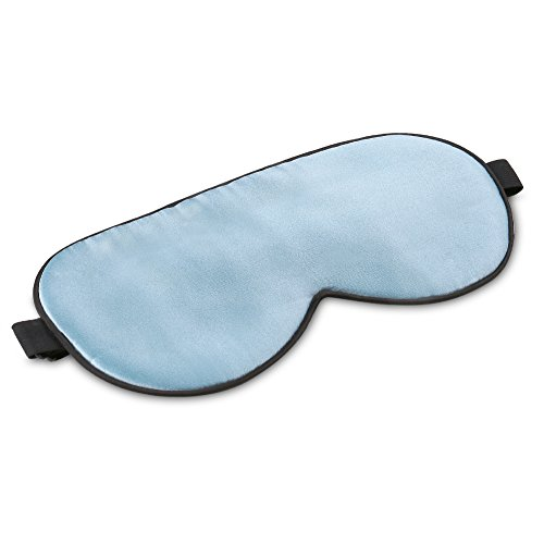 Plemo Eye Mask, Ultra-Soft Pure Mulberry Silk Sleep Mask Breathable Eye Cover for Bedtime & Travel