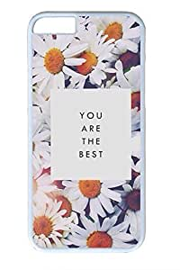 Beautiful Flowers 04 Slim Soft For SamSung Galaxy S6 Case Cover Case PC White Cases