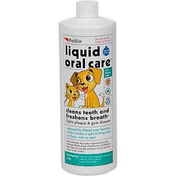 Petkin Pet Liquid Oral Care, 8-Ounce Bottle (Pack of 6), My Pet Supplies