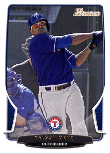 2013 Bowman #58 Nelson Cruz Rangers MLB Baseball Card NM-MT