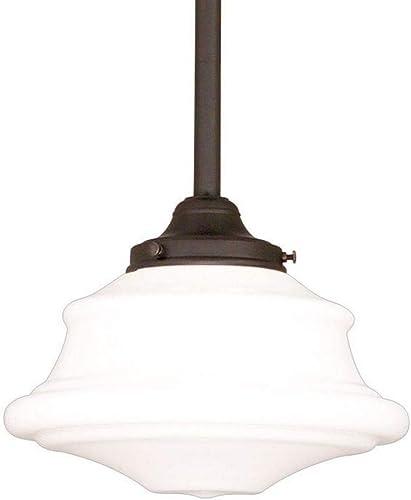 Hudson Valley Lighting 3416-OB Petersburg – One Light Pendant, Old Bronze