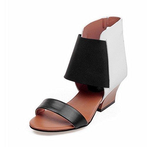 vestir Adee mujer de Sandalias para negro w6pS76nqE