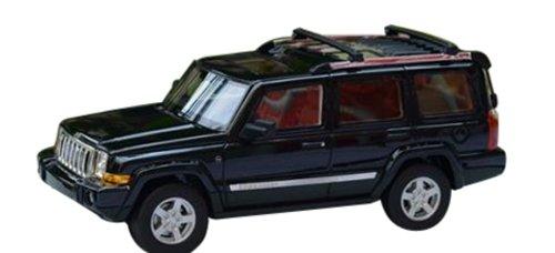 1/43 ジープ コマンダー 2011 メタリックブラック GLM43108401の商品画像