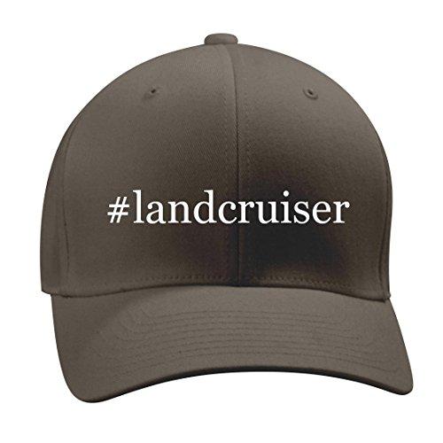 #landcruiser - A Nice Hashtag Men's Adult Baseball Hat Cap, Dark Grey, Large/X-Large